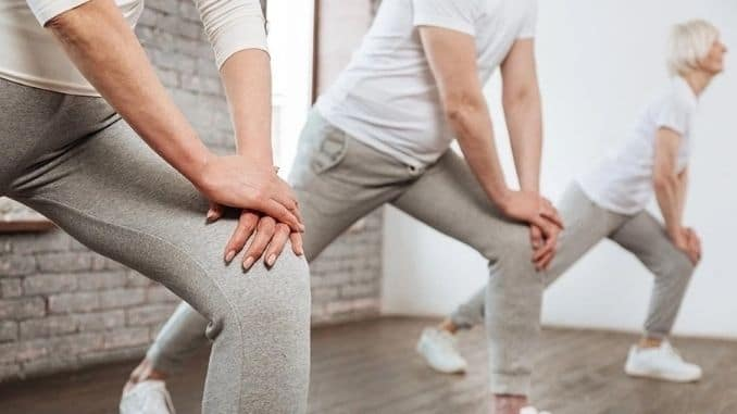 healthy knee joints