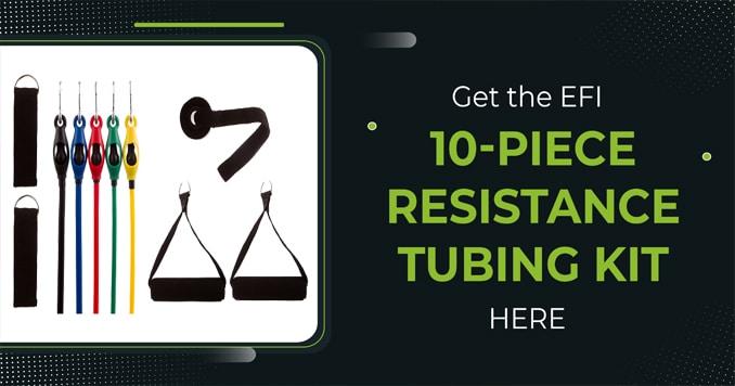 10-Piece Resistance Tubing Kit