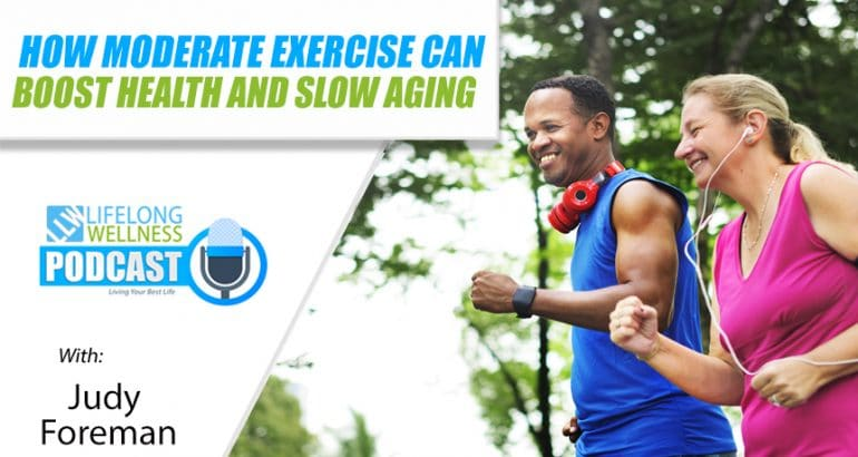 How Moderate Exercise Can Boost Health and Slow Aging