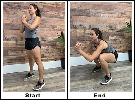 Full Bodyweight Squat