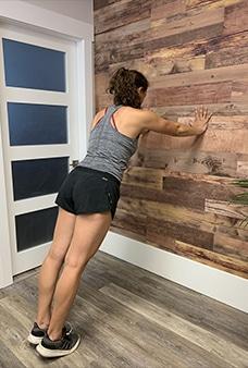 6 Straight Arm Plank