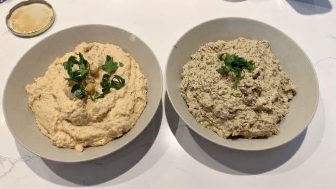 How to Make Hummus and Baba Ganoush