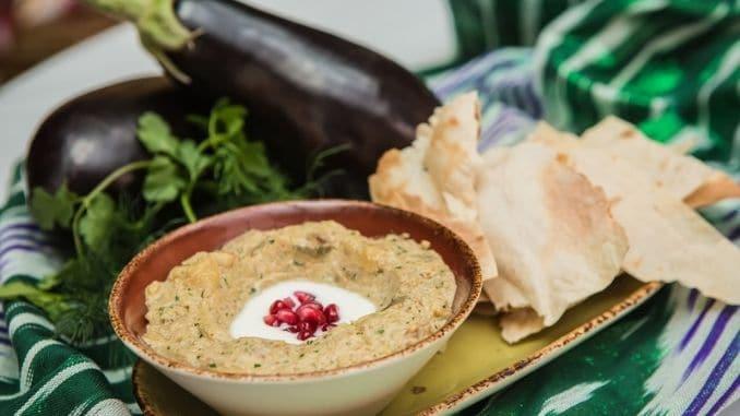 arabian eggplant dip baba ganoush