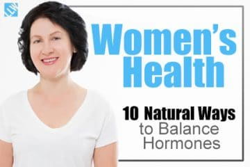 Women's Health – 10 Natural Ways to Balance Hormones