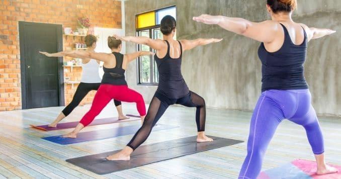 warm up yoga pose