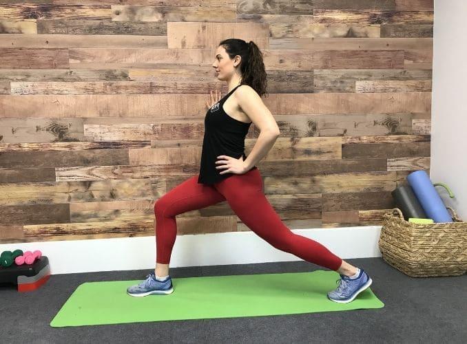 2a - Standing Hip Flexor Stretch