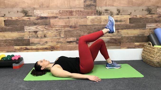 3b - Single Leg Raise From the Floor
