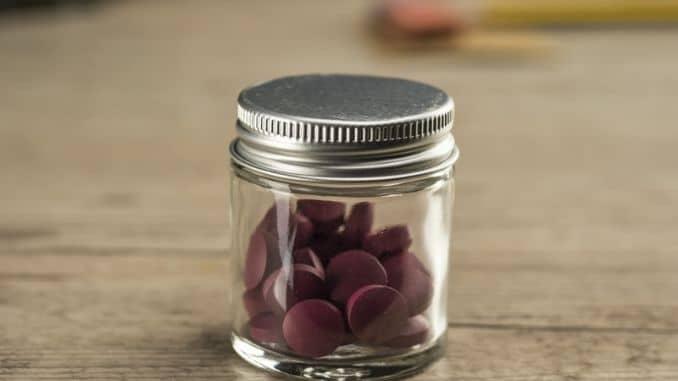 Iron Supplement pills 2