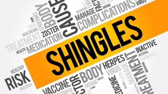 Shingles Vaccine And Syringe