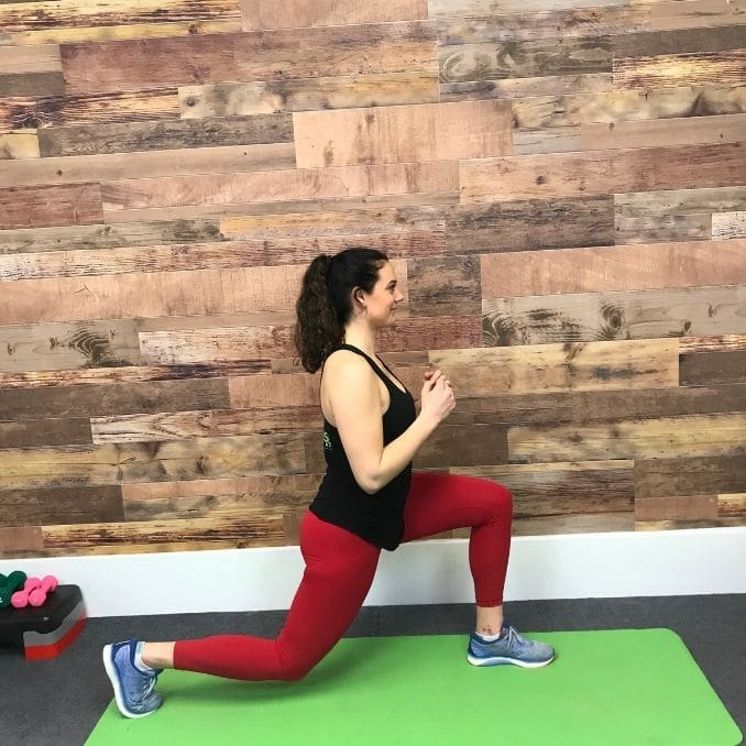 4b - Reverse Lunges