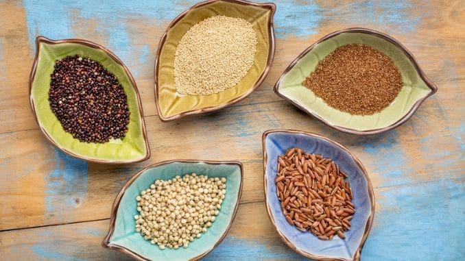Gluten free grains bowl