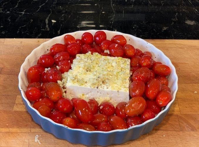 prepped dish
