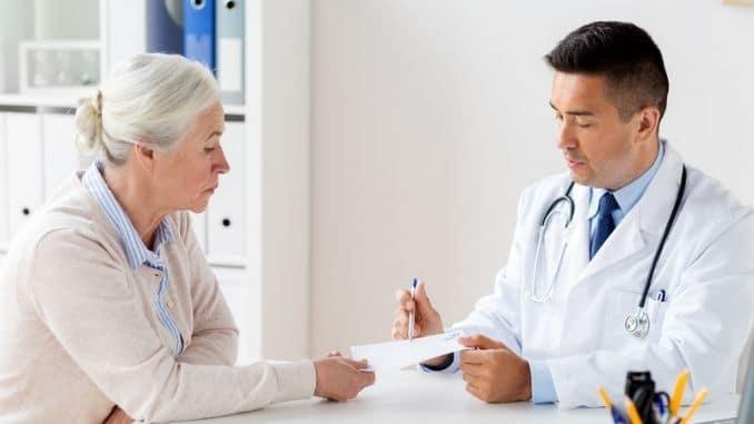 prescription at clinic