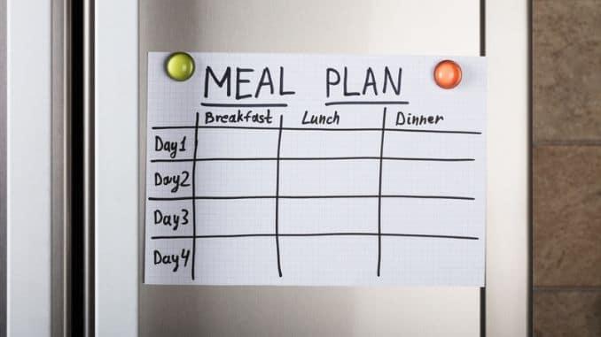 closeup-meal-plan-paper